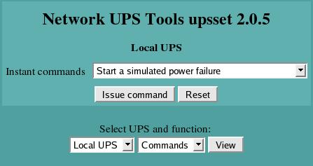 Tachec :: Tipy a triky :: Monitorování UPS pomocí nástroje NUT